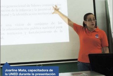 UNED CAPACITA A 168 GRUPOS COSTARRICENSES