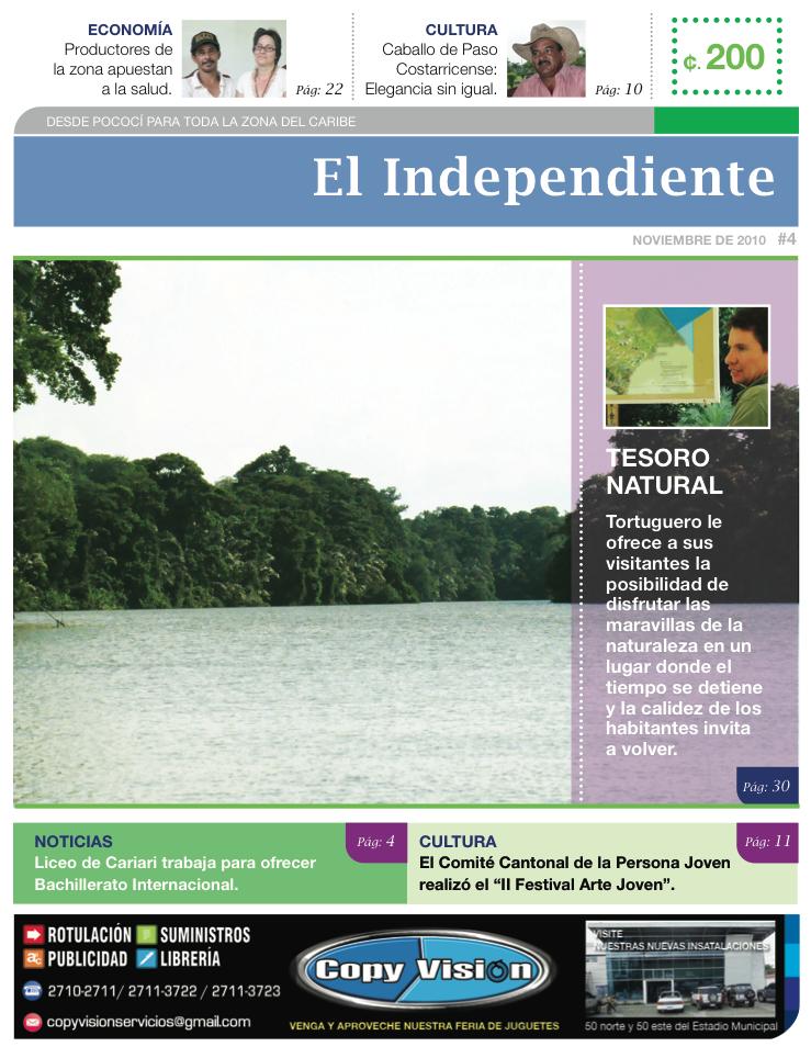 Edición #04 - El independiente - Noviembre 2010