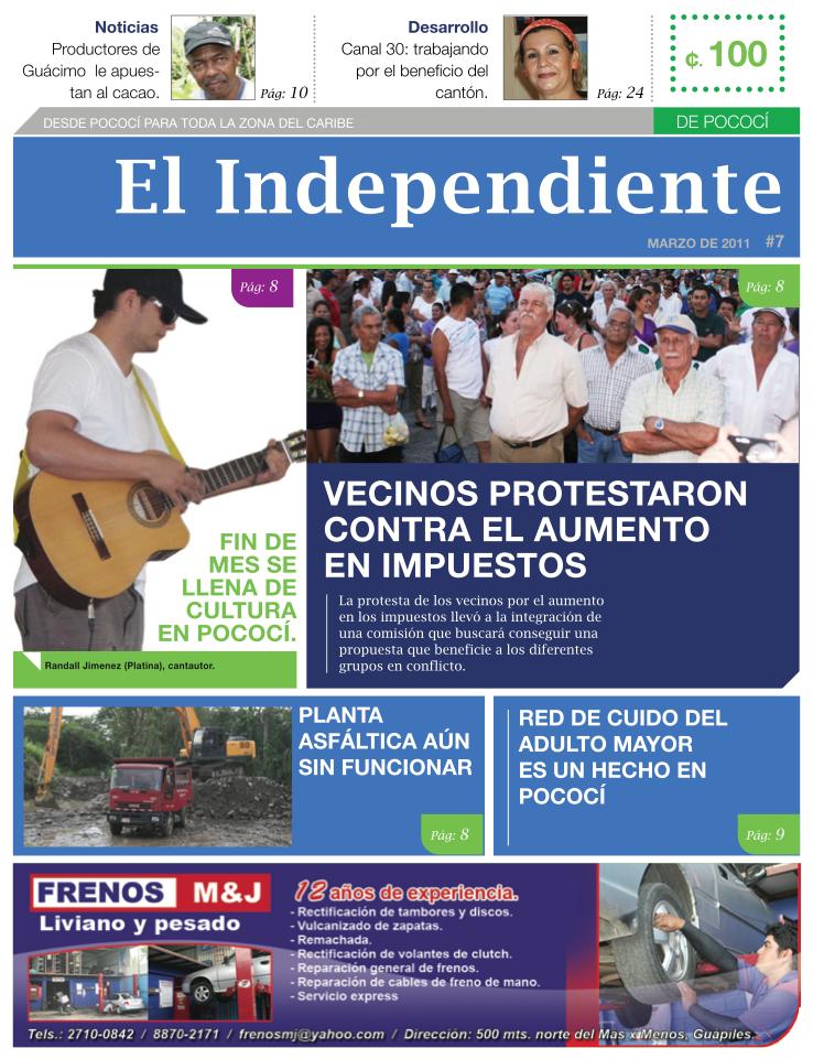 Edición #07 - El independiente - Marzo 2011