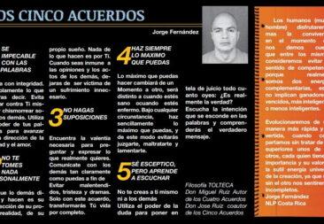 LOS CINCO ACUERDOS