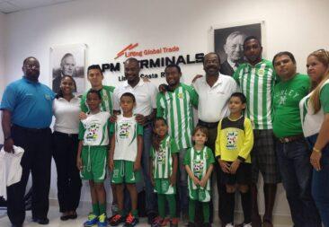 APM Terminals Moín patrocina al Limón Fútbol Club