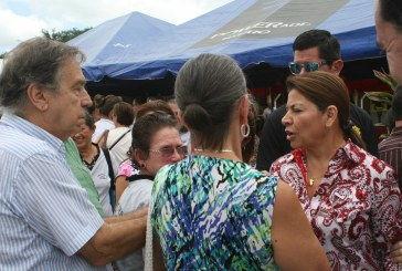 Presidenta se reúne con autoridades regionales en Pococcí