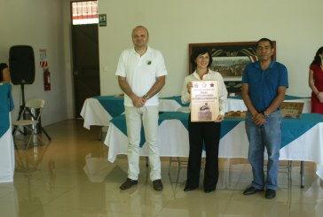 Hotel Los Ríos acoge premiación inédita