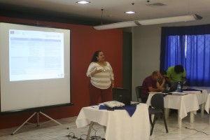 """Proyecto """"Emprende"""", dirigido a emprendedoras de la Región Atlántica, el pasado 6 de agosto en las instalaciones de COOPENAE, en el centro de la provincia de Limón"""