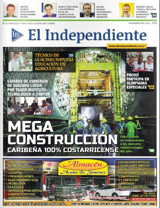Edición #16 – El Independiente – Diciembre 2013