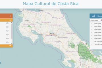 Mapa Cultural de Costa Rica, mejorando el sector cultura del país.