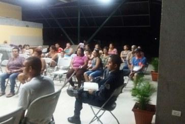 Vecinos de Toro Amarillo luchan para tener una delegación policial en la comunidad.