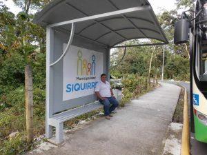 También se instalaron casetillas para que los usuarios esperen autobuses, tanto en el C.A.I.S como en otros puntos clave de la ciudad.