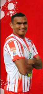 Cristian Lagos, delantero del equipo