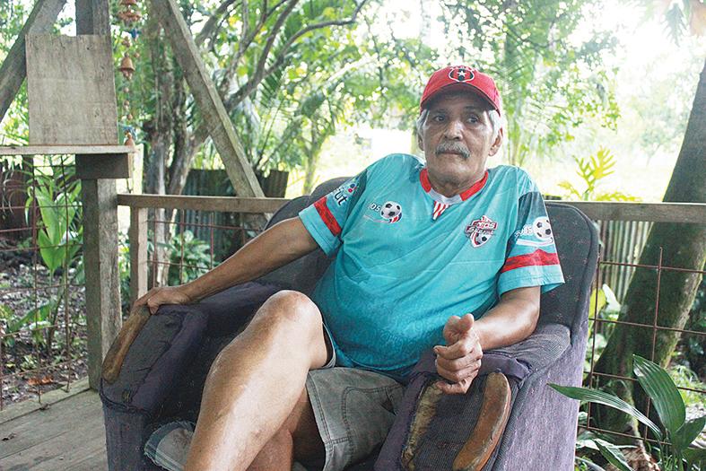 José Manuel Jiménez González De Bagaces a Pococí, jugando fútbol