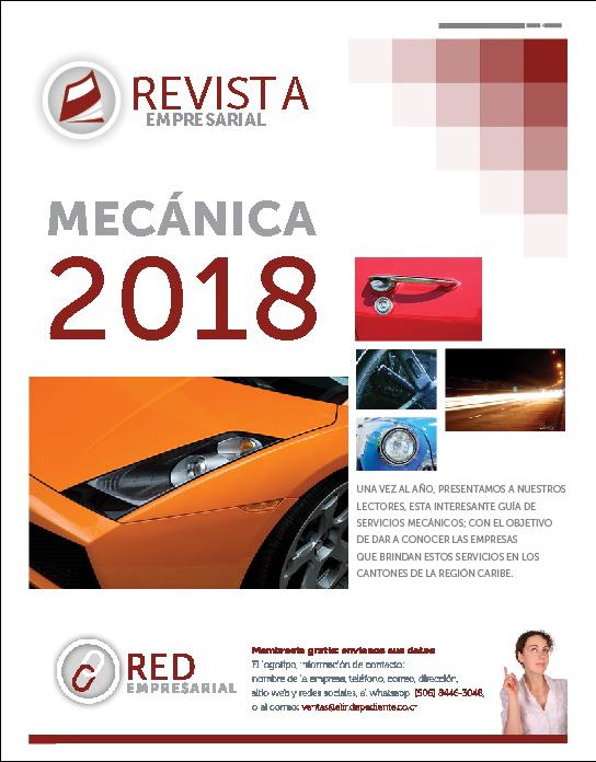 Revista Mecánica 2018