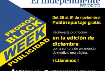 BLACK WEEK!!! Promociones en publicidad