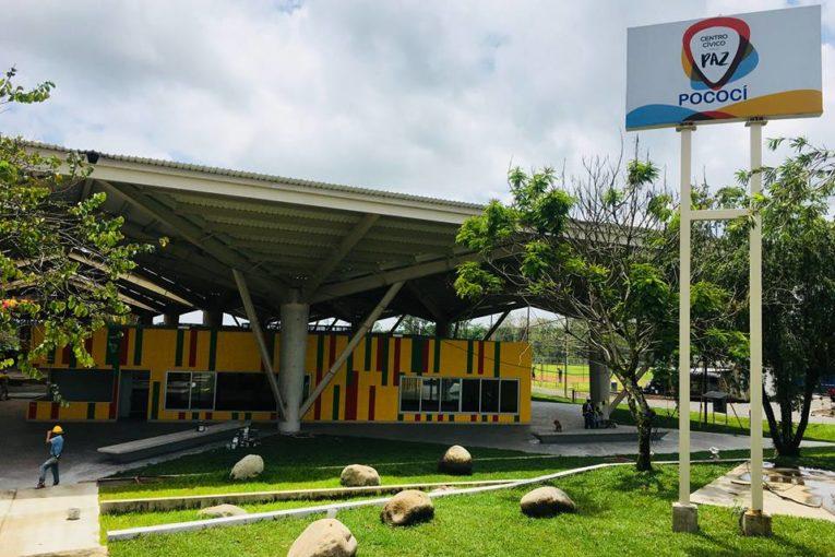 El Ministerio de Justicia y Paz inaugura centro cívico en Pococí