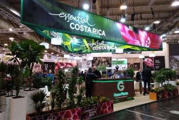Plantas ornamentales de Costa Rica se exhiben en la mayor feria del sector en Alemania