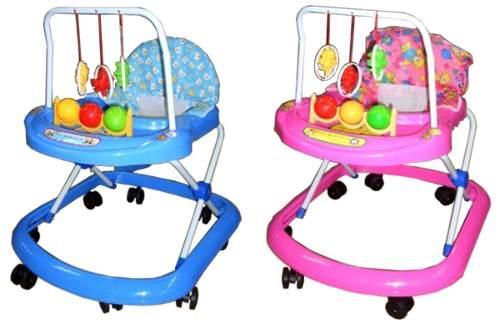 Cuidado con el uso y la compra de andaderas para bebés