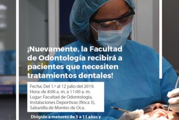 ¿Requiere una prótesis dental? La Facultad de Odontología de la UCR se pone a su disposición