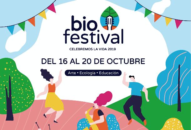 ¡Música, arte y ecología se reunirán en el Biofestival Celebremos la Vida 2019!