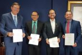Instituciones firman Memorándum de Entendimiento para integrar EDUS y SINIRUBE