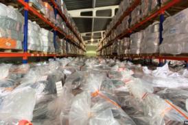 Listos los 198.000 paquetes de útiles escolares para distribuir en todo el país