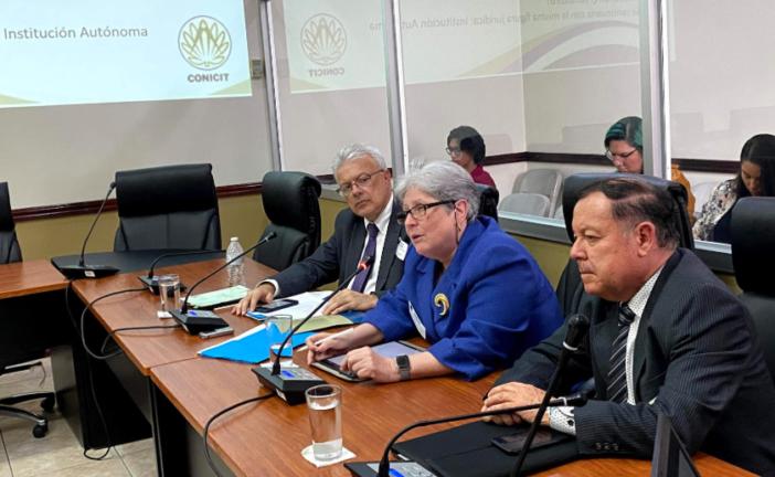 Presidenta del CONICIT comparece en Comisión Legislativa de Ciencia, Tecnología y Educación