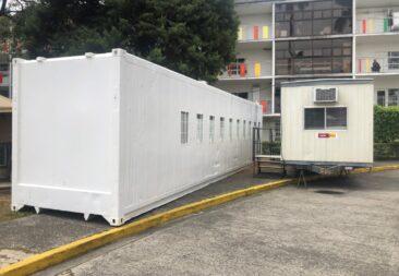 Contenedores servirán de apoyo al Hospital Nacional de Niños