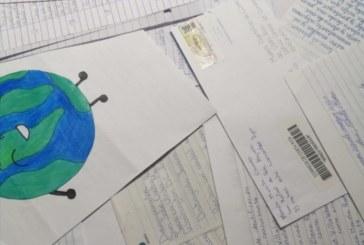 Ganadoras del concurso de escritura de cartas coinciden en su preocupación por el medio ambiente