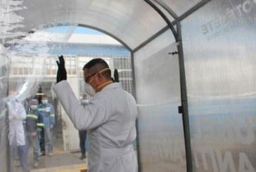 Ministerio de Salud no autoriza la utilización de túneles de desinfección para humanos