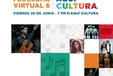 Aquí Cultura | Programa del Ministerio de Cultura y Juventud a través del Centro de Producción Artística y Cultural