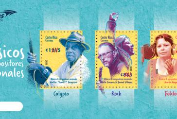 Músicos nacionales homenajeados en nueva emisión postal