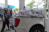Paquetes de alimentos llegaron hasta familias de pescadores y molusqueros de la Zona Sur