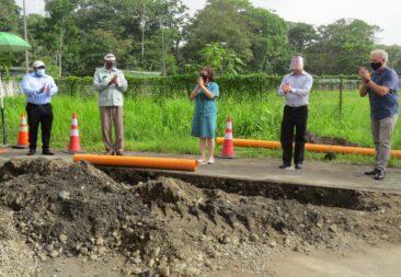 Inicia construcción de alcantarillado sanitario de Puerto Viejo