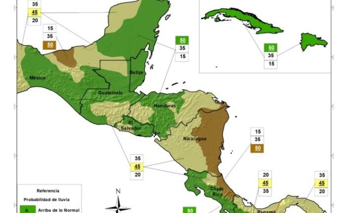 Pronostican fenómeno meteorológico de La Niña y lluvias arriba de lo normal para los próximos meses del año en los países miembros del SICA