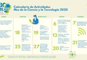MICITT inaugura Mes de la Ciencia y la Tecnología junto con celebración del 30 aniversario