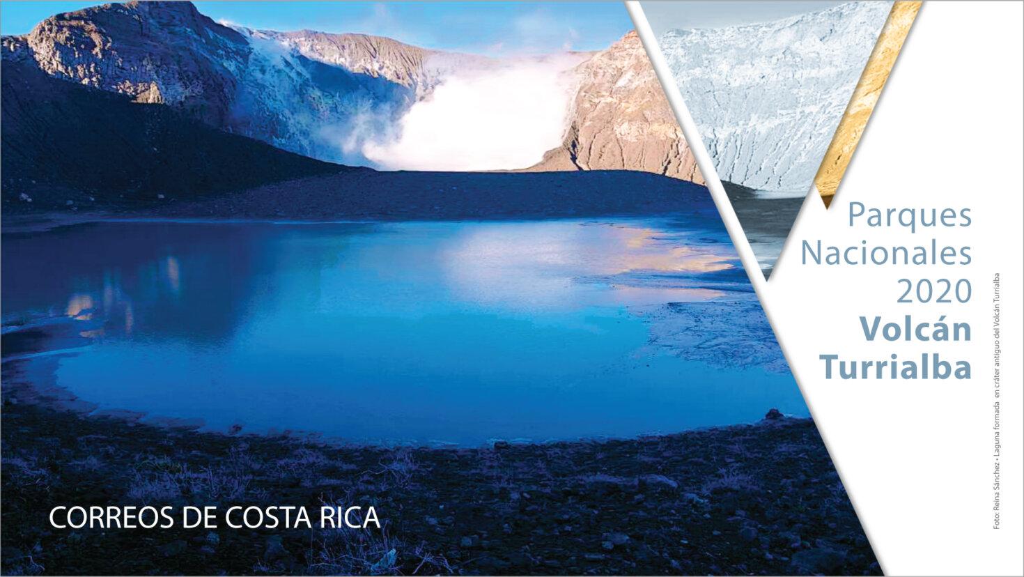 Parque Nacional Volcán Turrialba protagoniza nueva emisión postal