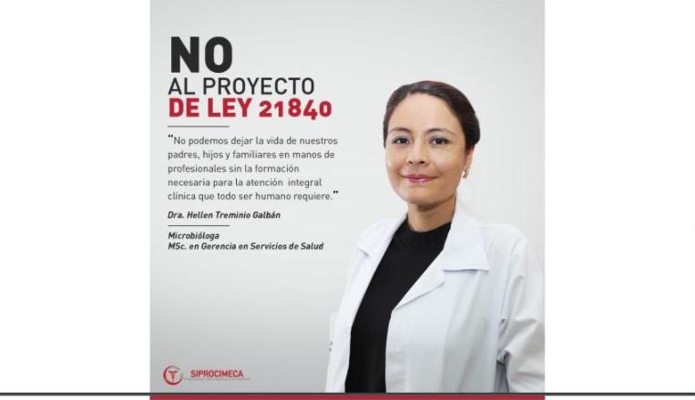 Profesionales de la salud se oponen a reforma a la Ley General de Salud