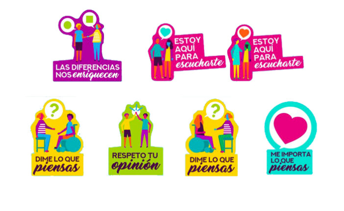 Stickers por la Paz