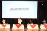 Organizaciones firman principios para ser parte del Foro Multisectorial de Diálogo Nacional