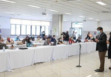 Representante de Territorios Seguros, Carlos Campos: «El presidente cree que el diálogo es estar a la par de él»