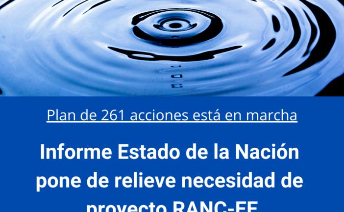 Informe Estado de la Nación pone de relieve necesidad de proyecto RANC-EE