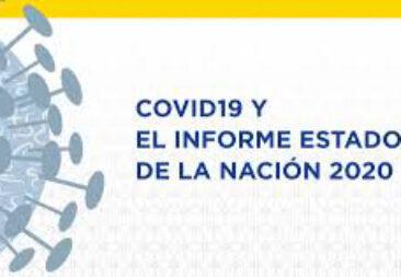 Edición especial del nuevo Informe Estado de la Nación 2020 estará disponible el próximo 17 de noviembre
