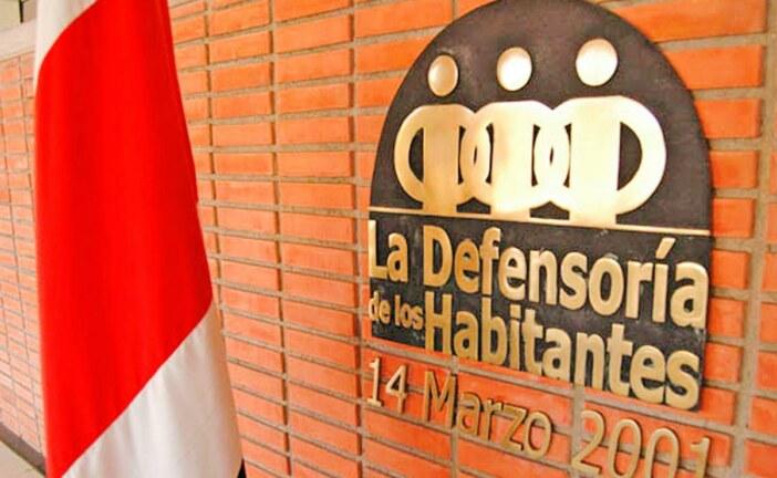 Defensoría pide informe de medidas en servicios públicos que impacte a población usuaria