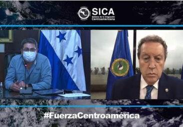 Presidente de Honduras y Secretario General del SICA llaman a unidad ante emergencias en la región