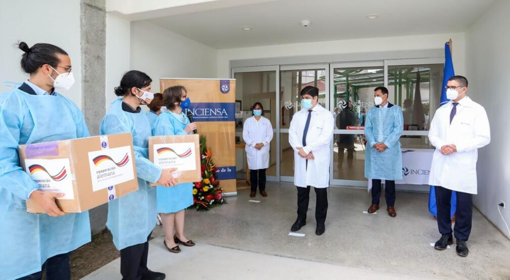 Costa Rica fortalece acciones contra el COVID-19 con donación de 100.000 pruebas PCR de Alemania
