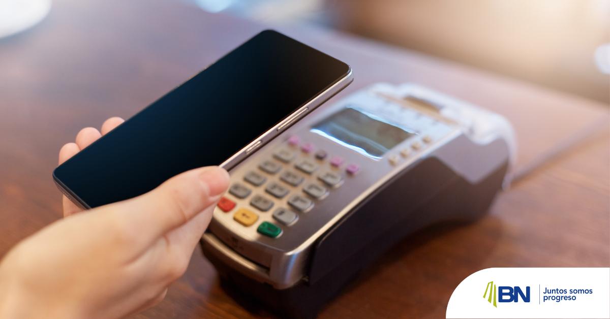 Banco Nacional lanza dispositivo para pagar sin contacto