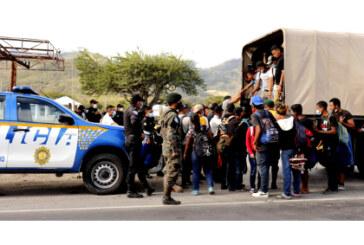 En Guatemala: Caravana migrante: un intento más por vivir dignamente.
