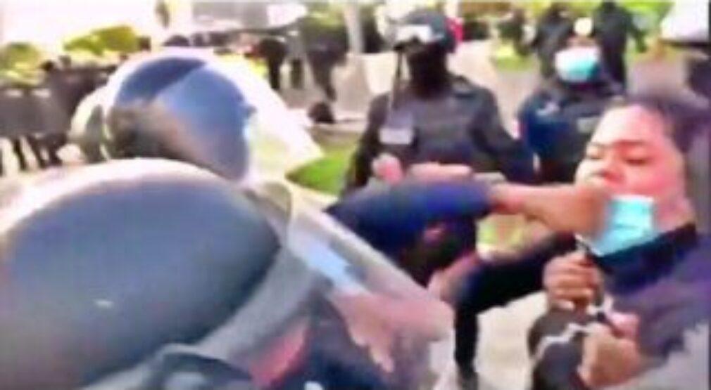 En Panamá: Universitarios agredidos y detenidos por protestar ante la injusticia social en el país