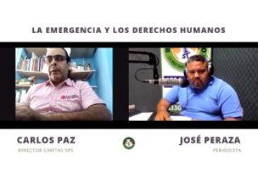 En Honduras: «La dignidad de las personas de cara un sistema fracasado», Carlos Paz, director de Cáritas de la Diócesis de San Pedro Sula