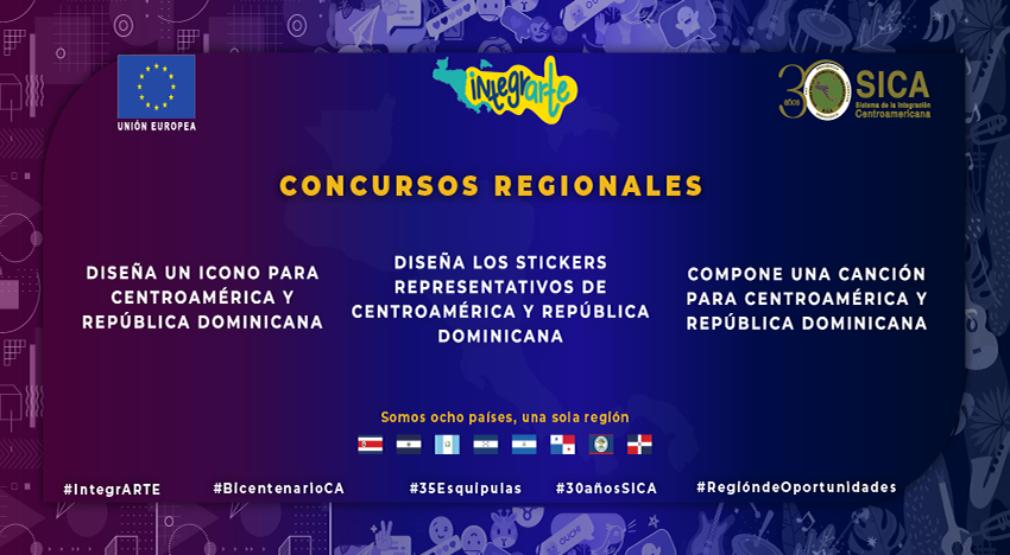 Más de US$20 mil en premios para personas creativas que diseñen un ícono y stiker o compongan una canción para Centroamérica y República Dominicana