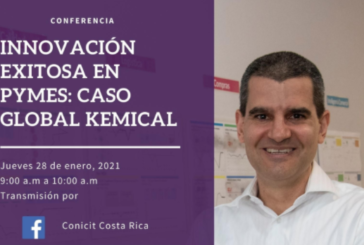 Conferencia: Innovación exitosa en pymes: caso Global Kemical