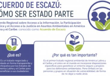 Acuerdo de Escazú: Argentina y México depositan su respectivo instrumento de ratificación